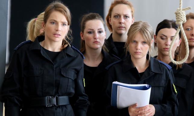 Niebezpieczne kobiety Anna Dereszowska i Joanna Kulig na planie nowego \