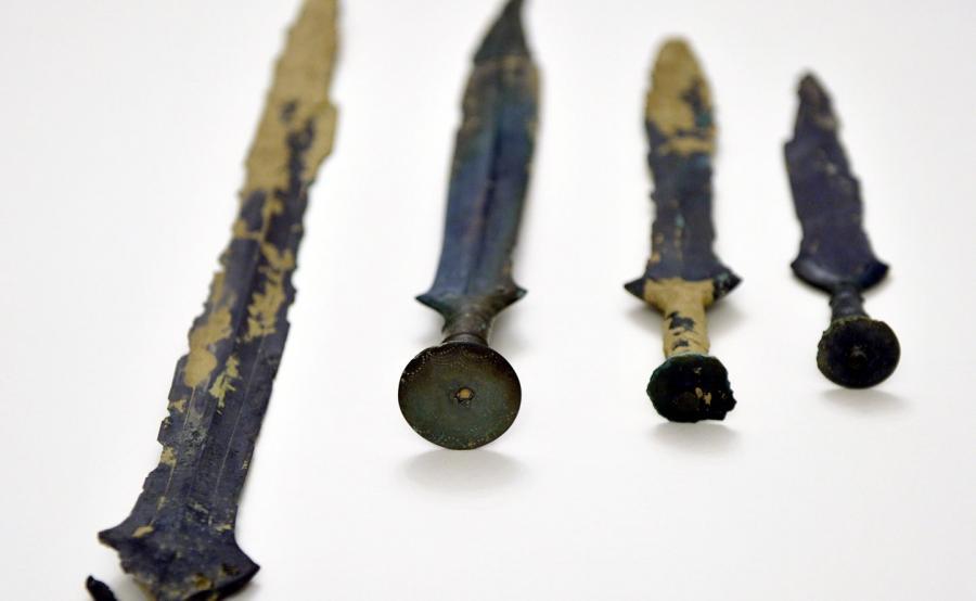 Znalezione miecze