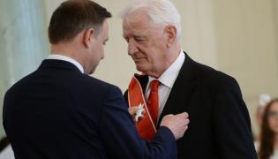 Andrzej Duda odznaczył Krzysztofa Wyszkowskiego