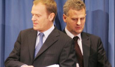 Tusk przeprasza, że chciał wyrzucić Grada