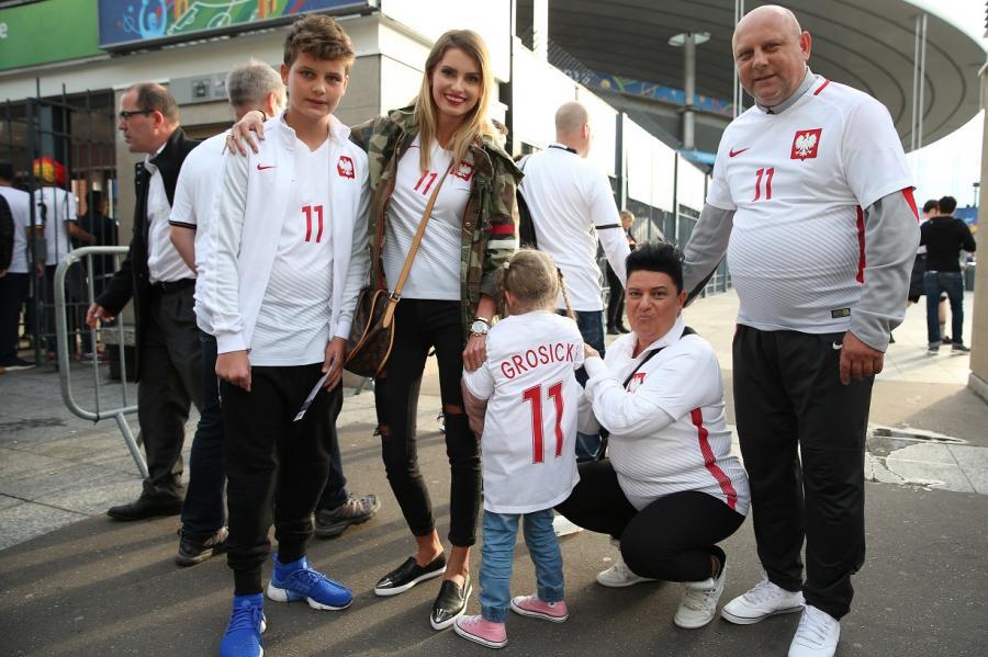 Tak żony i partnerki Polaków kibicowały swoim mężczyznom