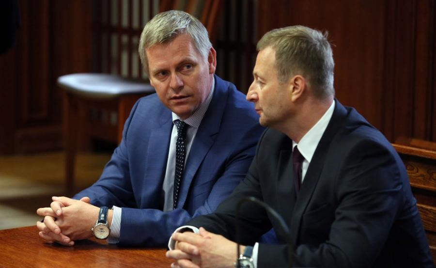 Gen. Paweł Bielawny i jego adwokat