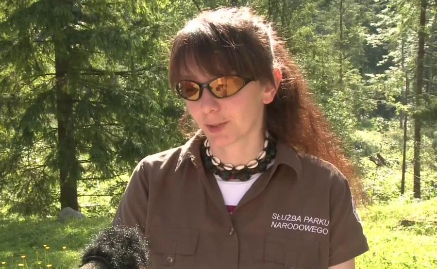 Bogusława Chlipała z TPN