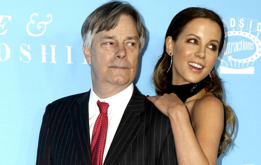 Whit Stillman i Kate Beckinsale na premierze filmu \