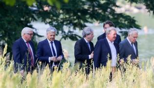 Spotkanie przedstawicieli 6 państw-założycieli UE