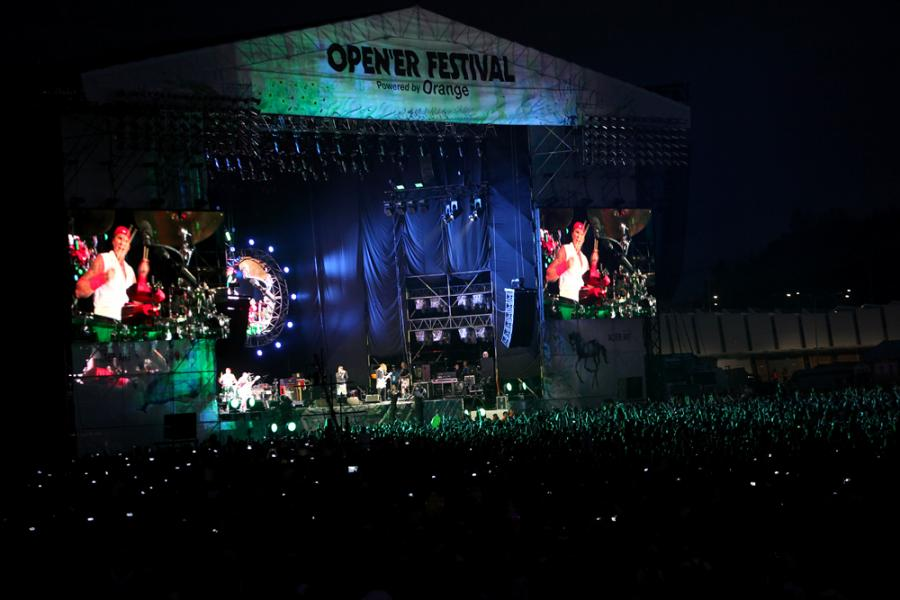 Open'er Festival 2016: Red Hot Chili Peppers / Fot. Joanna Combik