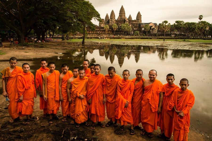 Angkor Wat; fot. T. Bogusz / Pirania na kolację