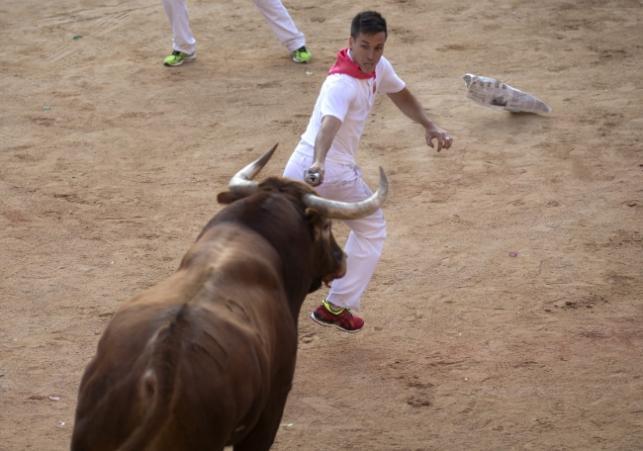 gonitwa byków w Pampelunie