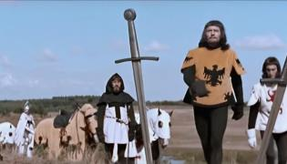 """Kadr z filmu """"Krzyżacy"""""""