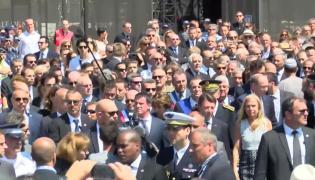 Minuta ciszy w Nicei przerwana gwizdami