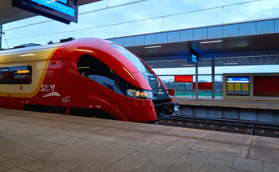 Pociąg warszawskiej SKM