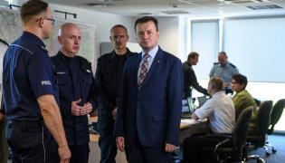 Minister Mariusz Błaszczak w Legionowie