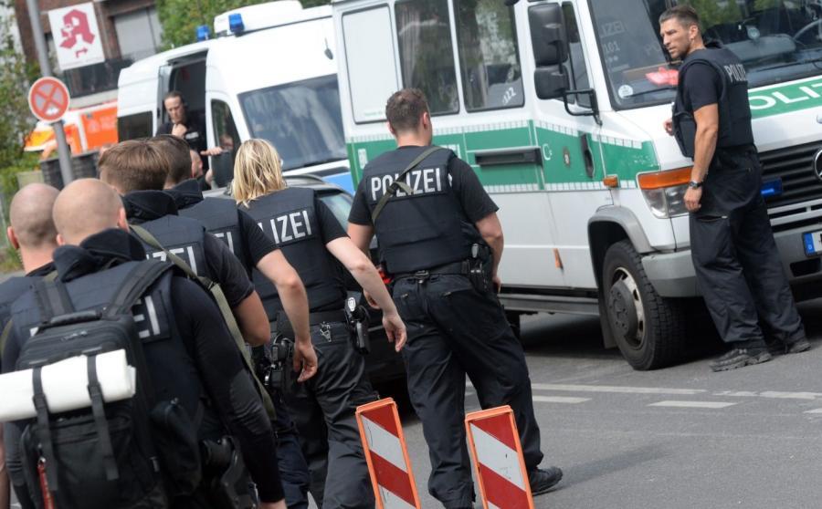 Akcja niemieckiej policji w szpitalu