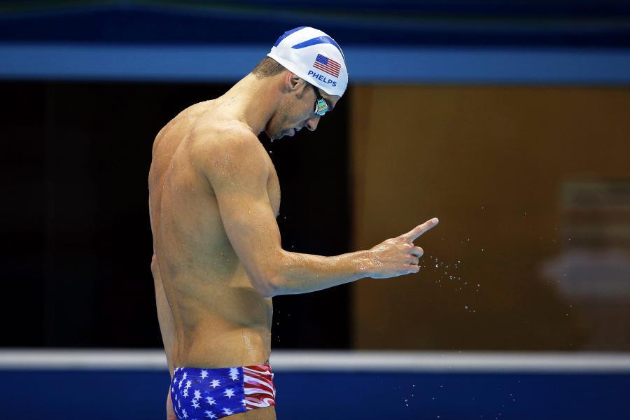 Michael Phelps dobrze wygląda nie tylko w wodzie