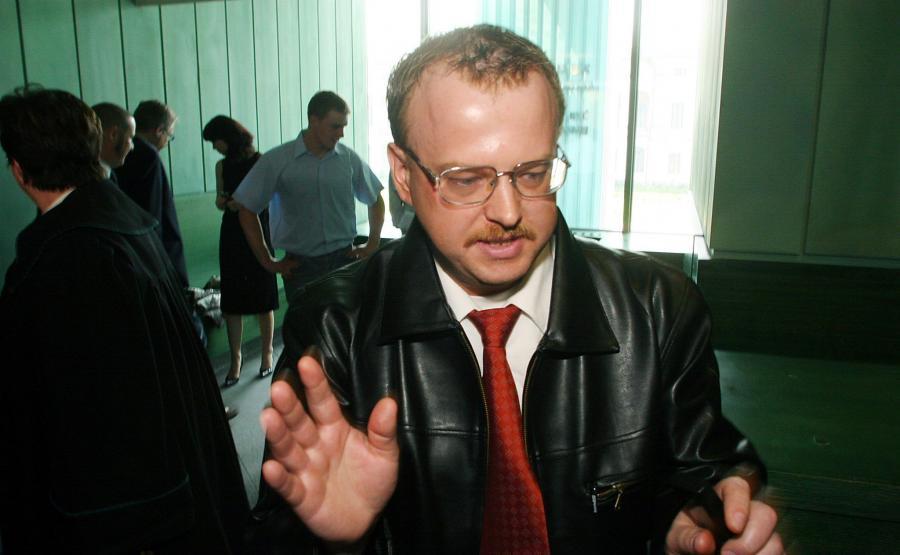 Bogdan Gasiński na procesie sądowym w 2006 roku