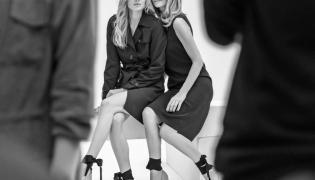 Aneta Kręglicka i Natalia Siódmiak w kampanii Badura Icons 2016