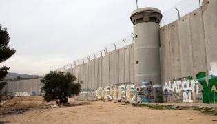 Mur odgradzający Izrael od Palestyny
