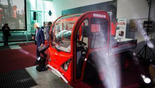 Nowy samochód elektryczny marki Ursus