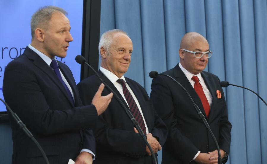 Michał Kamiński, Jacek Protasiewicz, Stefan Niesiołowski
