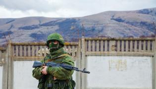 """""""Zielony ludzik"""", czyli rosyjski żołnierz na Krymie"""