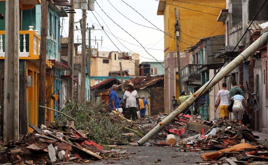 Huragan Matthew. Zniszczenia na Kubie