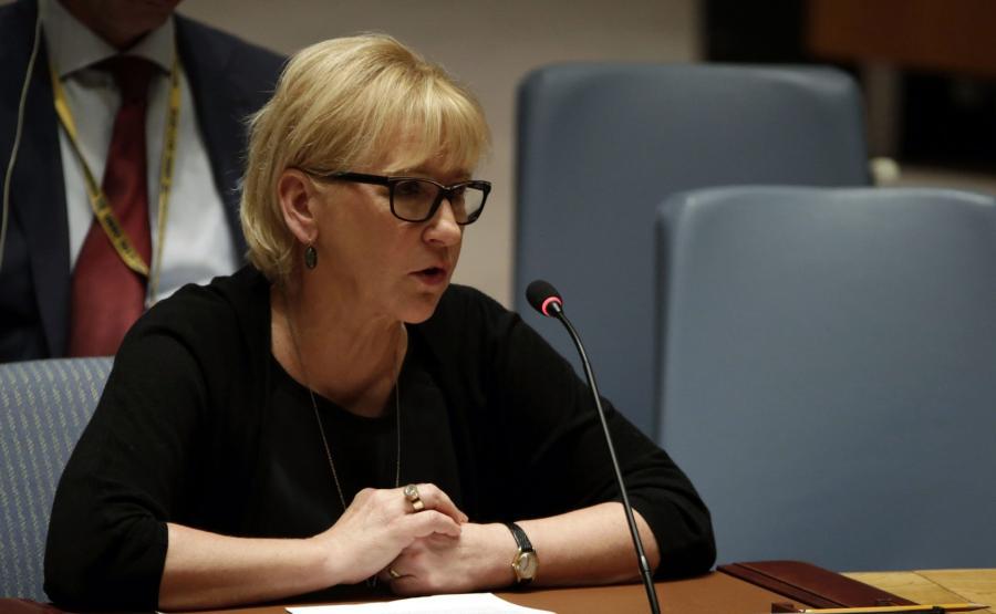Margot Wallstroem, szefowa szwedzkiej dyplomacji