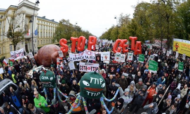 Znalezione obrazy dla zapytania CETA POLSKA