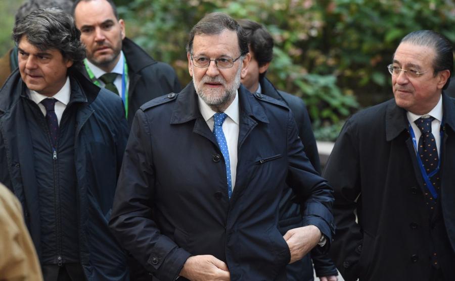 Premier Hiszpanii Mariano Rajoy Brey