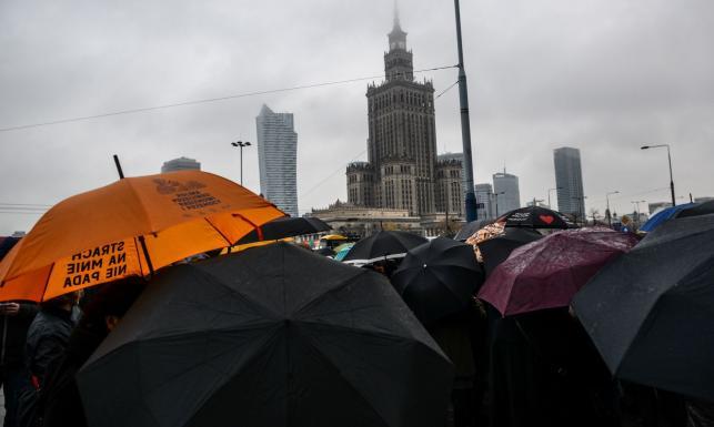 Przepychanki w Warszawie pomiędzy uczestnikami \