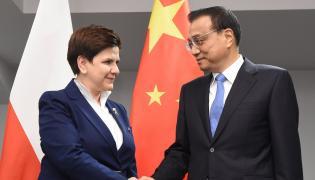 Premier Li Keqiang i premier Beata Szydło
