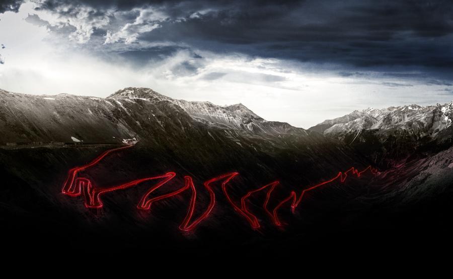 Przełęcz Stelvio widziana oczami Alfa Romeo