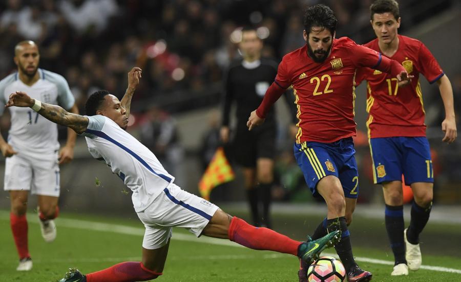 Anglia zremisowała z Hiszpanią 2:2