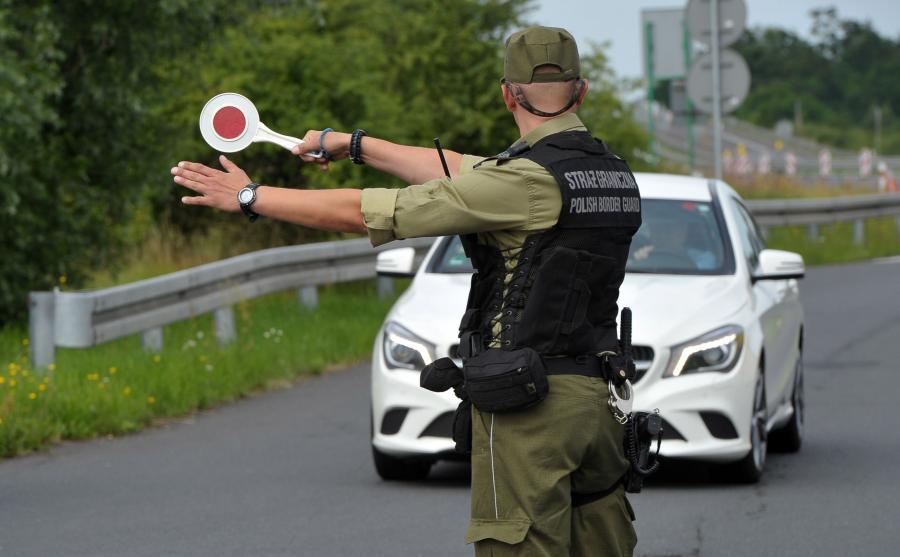 Kontrola na polskiej granicy