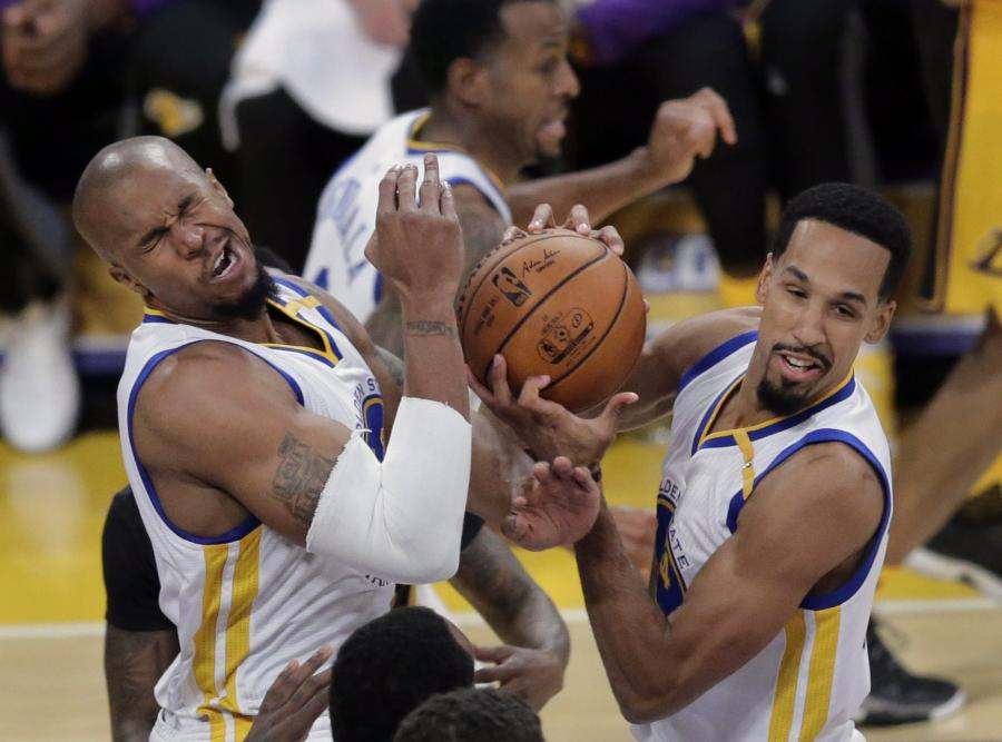 David West i Shaun Livingston