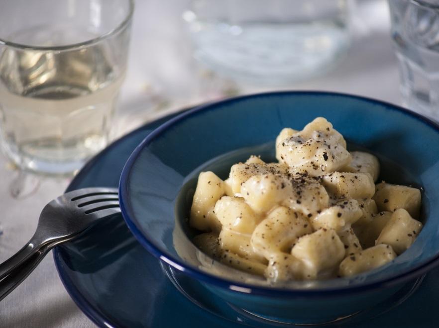 Gnocchi z gorgonzolą