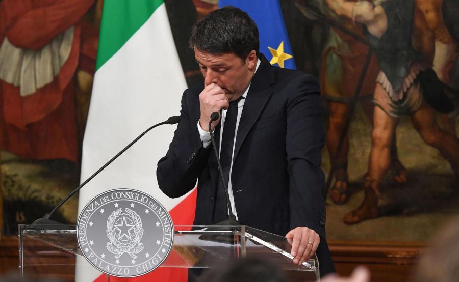 Były premier, Matteo Renzi