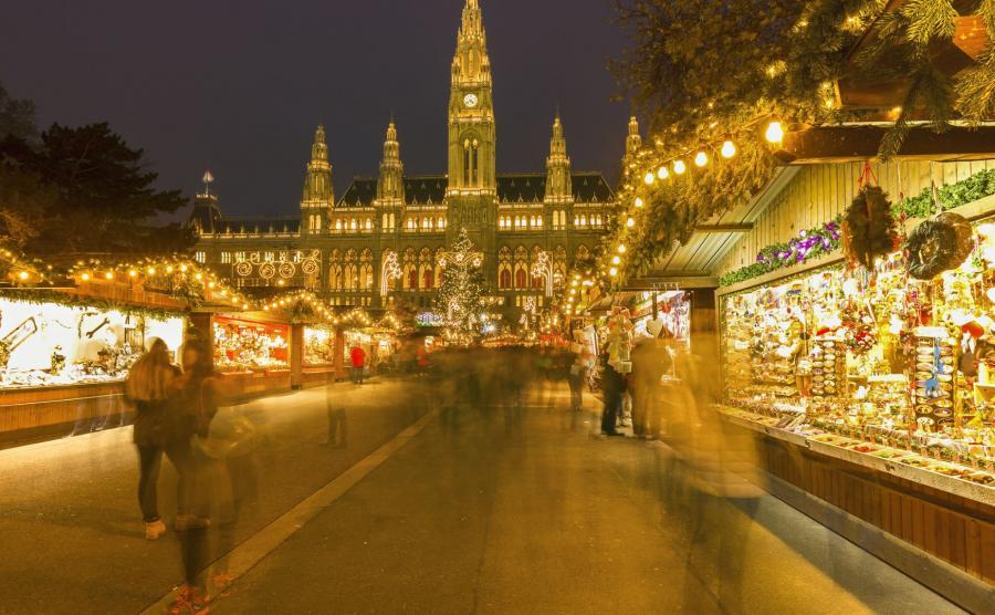 Jarmark świąteczny w Wiedniu