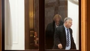Poseł PiS Marek Suski  i wicemarszałek Ryszard Terlecki