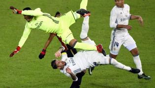 Keylor Navas i Sergio Ramos