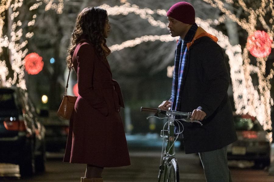 """Naomi Harris oraz Will Smith w filmie """"Ukryte Piękno"""". Premiera 25 grudnia 2016. fot. materiały prasowe"""