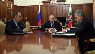 Siergiej Ławrow, Władimir Putin i Siergiej Szojgu