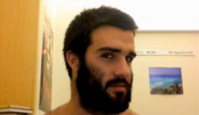 Zrobił sobie z brody dzieło sztuki