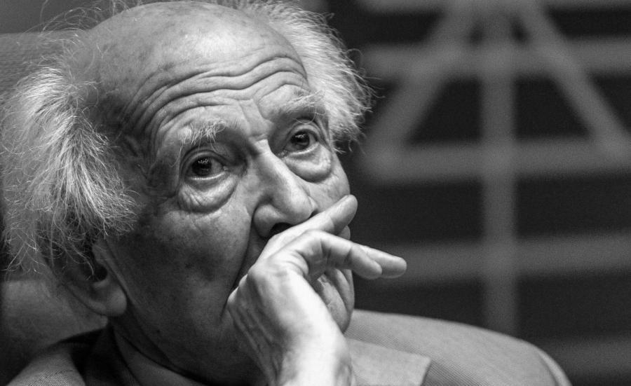 Na zdjęciu archiwalnym z 22.06.2013 r. socjolog i filozof profesor Zygmunt Bauman
