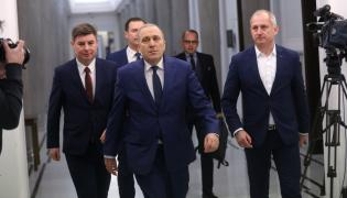 Grzegorz Schetyna i politycy PO