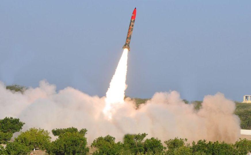 Test pakistańskiej rakiety