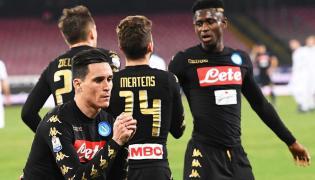 Piłkarze Napoli fetują zdobycie gola