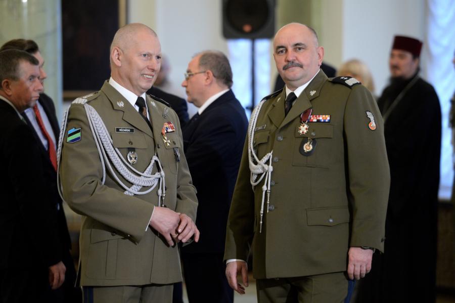 Gen. Mirosław Różański i gen. Jarosław Mika