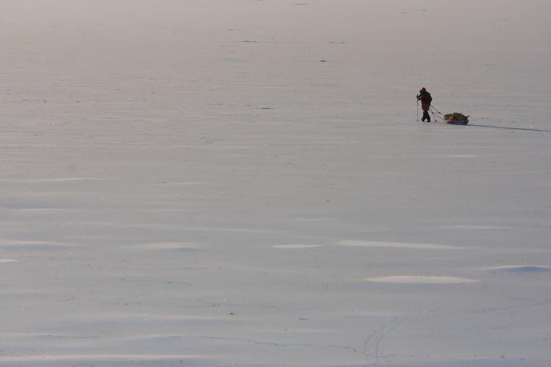 Spacer w terenach gdzie temperatura spadała do -52 st. C