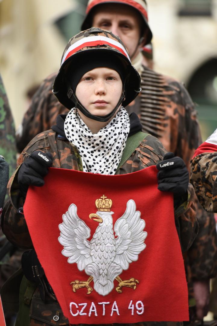 III Krajowa Defilada Pamięci Żołnierzy Niezłomnych z udziałem m.in. około 20 grup rekonstruktorskich odbyła się w Gdańsku.