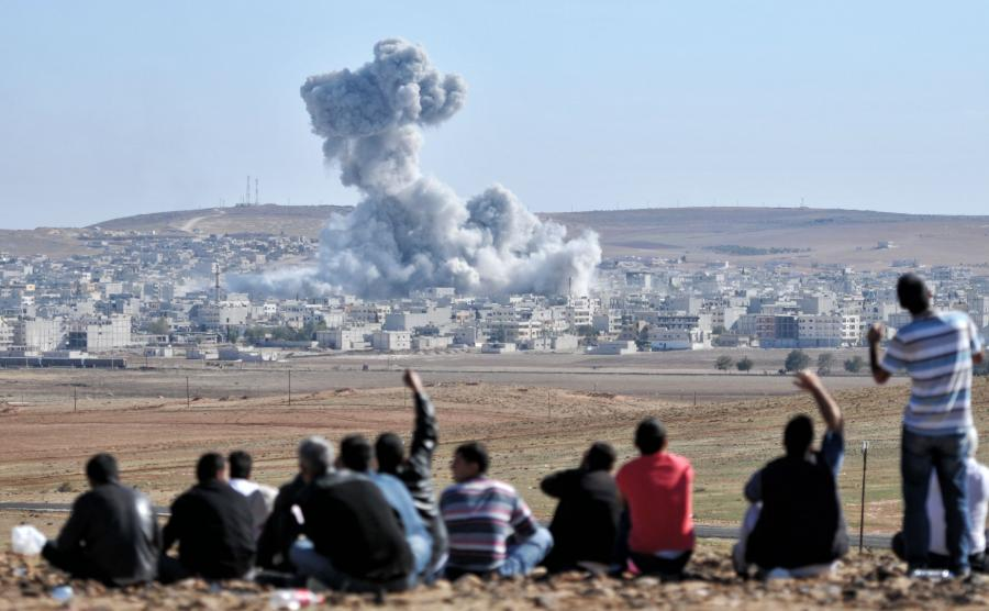 Bombardowanie miasta